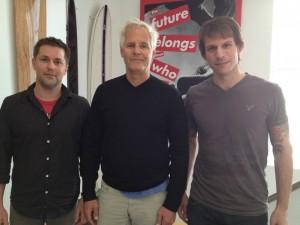 Michael Walsh, Chris Carter, Joe Harris