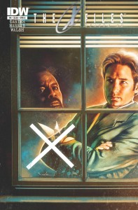 X-Files Season 10 #8 cover A - Art by Carlos Valenzuela